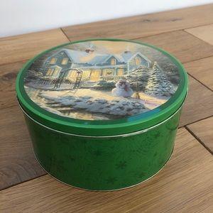Thomas Kincade Christmas Tin
